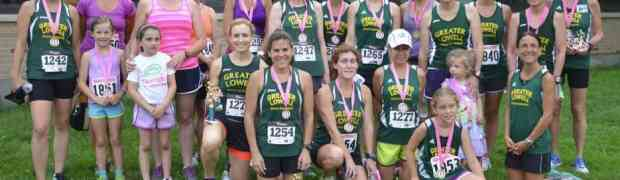 Ladies Shine at the 32nd Berna's Great Legs 5K