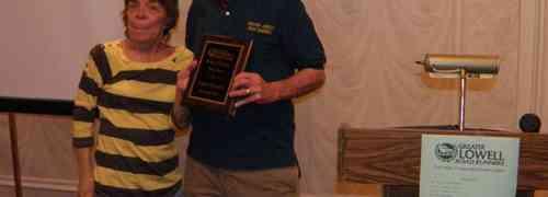 GLRR Honors Glenn Stewart